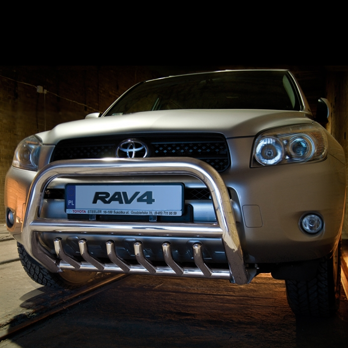 EU-Kufanger Ø 70mm/Ø 60mm, underkjørseksjon (rør), Toyota RAV4, mod. 2006->2010