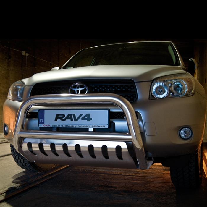 EU-Kufanger Ø 70mm/Ø 60mm, underkjørseksjon (blekkplate), Toyota RAV4, mod. 2006->2010