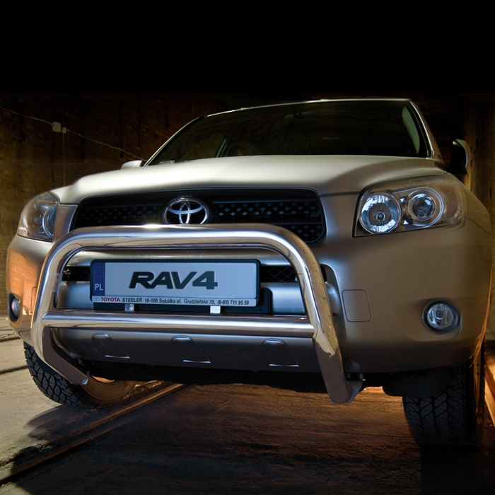 EU-Kufanger Ø 70mm, tverrrør Ø 60mm, Toyota RAV4, mod. 2006->2010