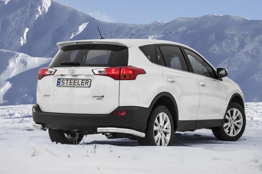 Hekkfanger Ø 70mm, høyre og venstre side, Toyota RAV4, mod. 2013->2015