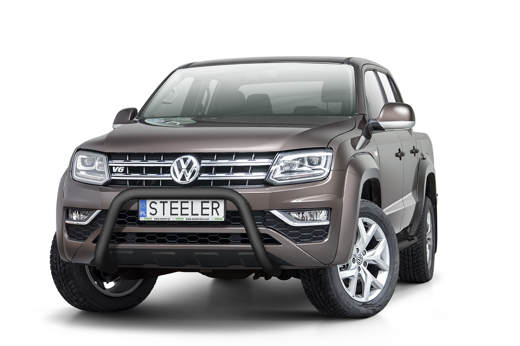 Sort EU-Kufanger, Ø 70mm, VW Amarok, mod. 2016->
