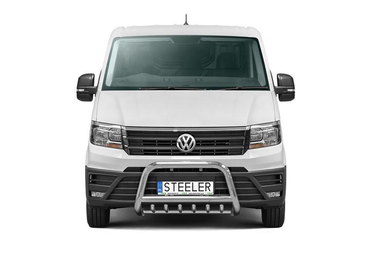 EU-Kufanger Ø 70mm, tverrør Ø 60mm, underkjørseksjon (rør), VW Crafter mod. 2017->