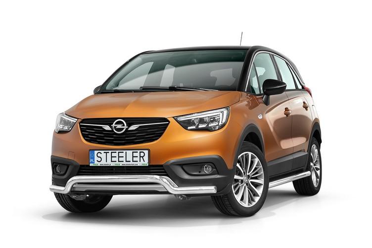 Spoilerrør Ø 60mm, Opel Crossland X mod. 2017->