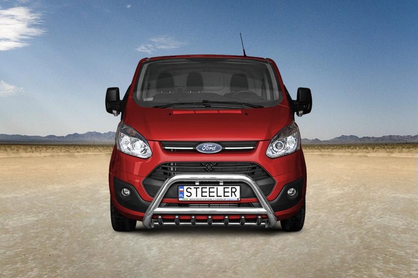 EU-Kufanger Ø 70mm/Ø 60mm, underkjørseksjon (rør), Ford Transit Custom, mod. 2012->2018