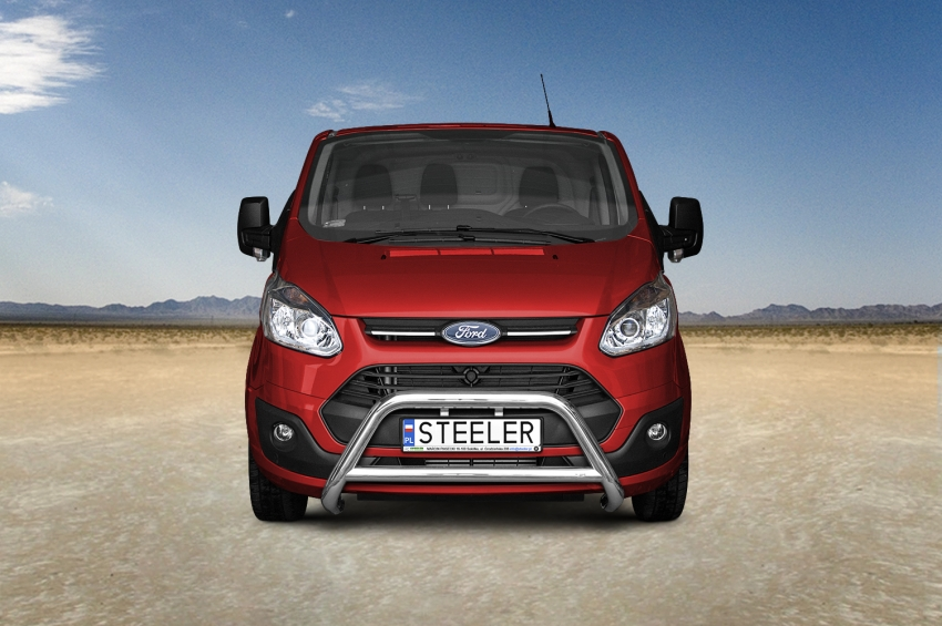 EU-Kufanger Ø 70mm, tverrrør /Ø 60mm, Ford Transit Custom, mod. 2012->2018