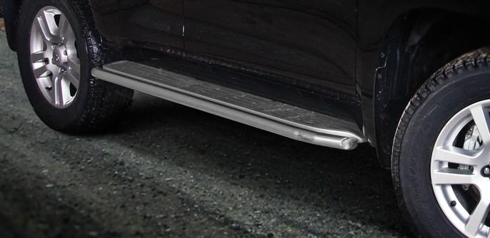 Stigtrinnbeskyttere Ø 48mm, Toyota LAND CRUISER 150, mod. 2010->2013