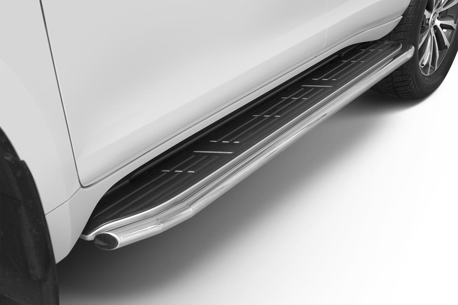 Stigtrinnbeskyttere Ø 48mm, Toyota LAND CRUISER 150, mod. 2017->