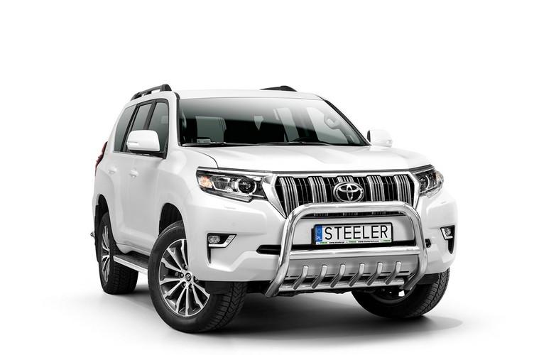 EU-Kufanger Ø 70mm m/underkjørseksjon rør, Toyota LAND CRUISER 150, mod. 2017->
