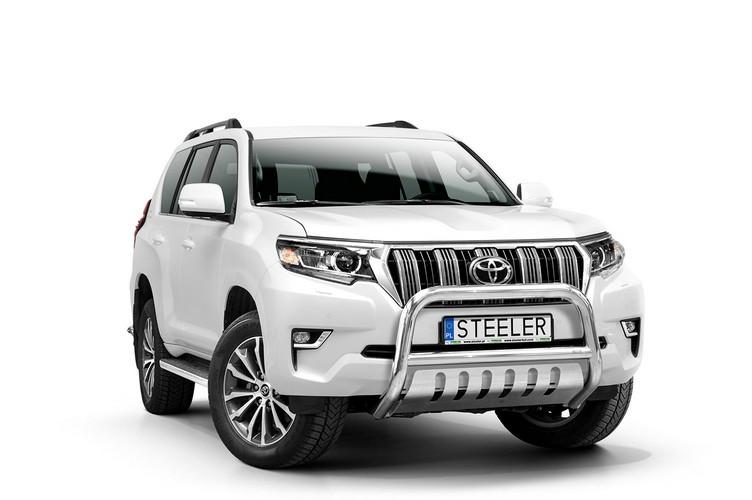 EU-Kufanger Ø 70mm m/underkjørseksjon blekk, Toyota LAND CRUISER 150, mod. 2017->