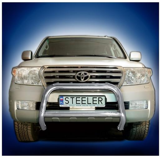 EU-Kufanger Ø 70mm, tverrrør /Ø 60mm, Toyota LAND CRUISER V8, mod. 2007->2012