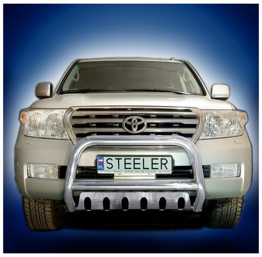 EU-Kufanger Ø 70mm/Ø 60mm, underkjørseksjon (plate), Toyota LAND CRUISER V8, mod. 2007->2012