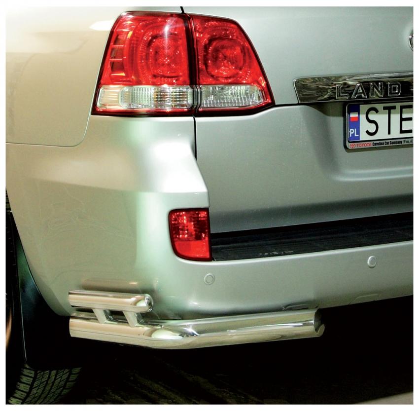 Hekkfanger Ø 70mm, høyre og venstre side, Toyota LAND CRUISER V8, mod. 2007->2012