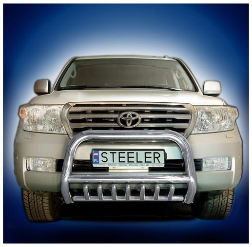 EU-Kufanger Ø 70mm/Ø 60mm, underkjørseksjon (rør), Toyota LAND CRUISER V8, mod. 2007->2012