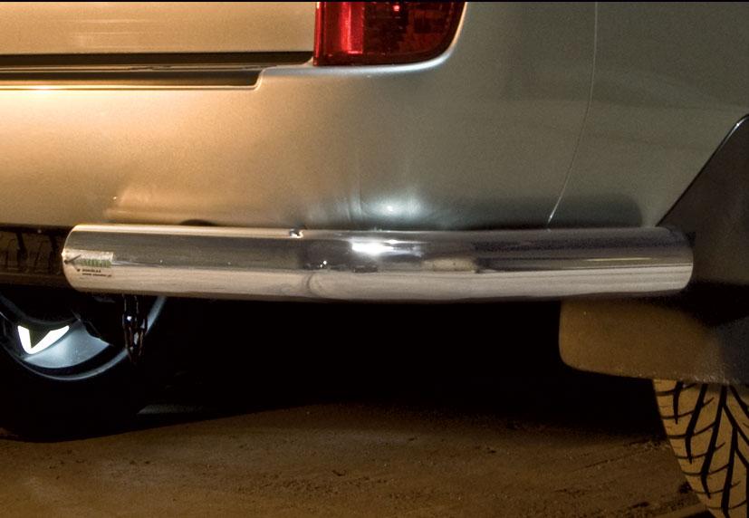 Hekkfanger Ø 70mm, høyre og venstre side, Toyota LAND CRUISER V8, mod. 2012->2016