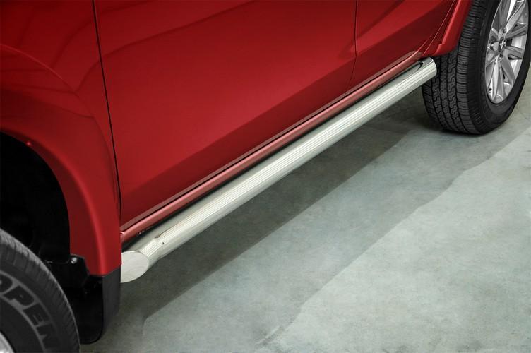 Kanalbeskyttere Ø 76mm, Fiat Fullback mod. 2015->