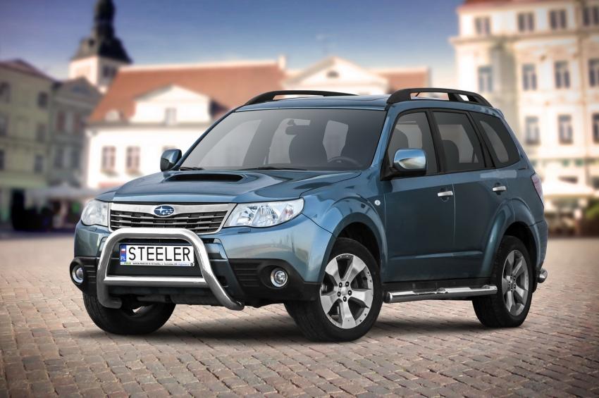 EU-Kufanger Ø 70mm, tverrrør /Ø 60mm, Subaru Forester, mod. 2008->2012