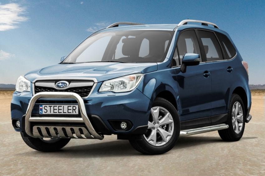 EU-Kufanger Ø 70mm/Ø 60mm, underkjørseksjon (blekkplate), Subaru Forester, mod. 2013->2016
