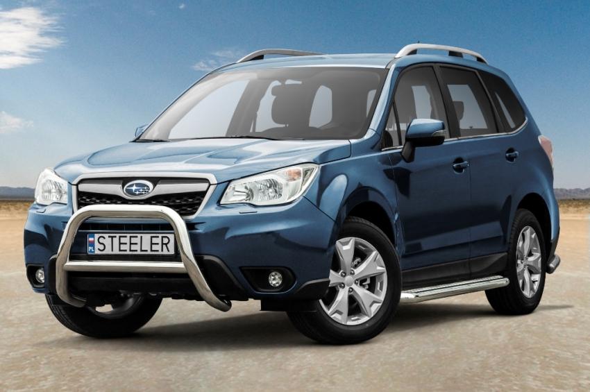 EU-Kufanger Ø 70mm, tverrrør /Ø 60mm, Subaru Forester, mod. 2013->2019