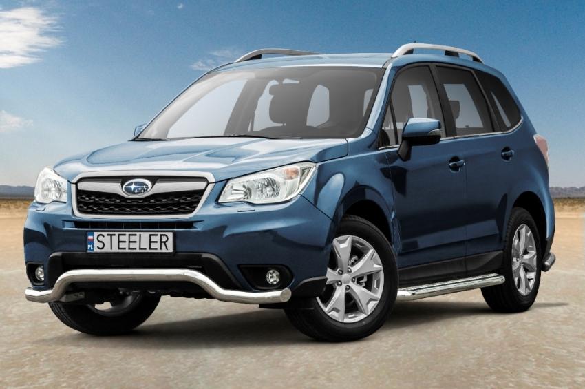 Frontspoiler, Ø 70mm, Subaru Forester mod. 2013->2016