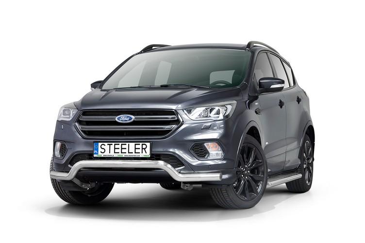 Spoilerrør, Ø 70mm, Ford Kuga, mod. 2017->2019