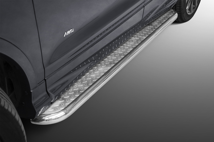 Stigtrinn Ø 70mm, m/metallplate,   Ford Kuga, mod. 2017->2019