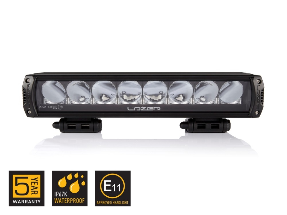 LED-lykt, LAZER Triple-R 1000 - black