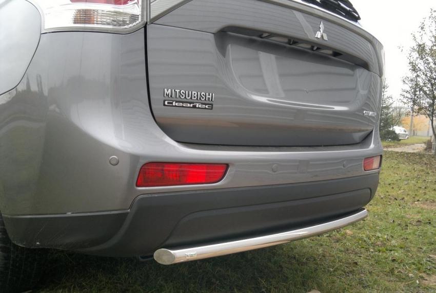 Hekkspoiler Ø70 mm, Mitsubishi Outlander mod. 2012->2015