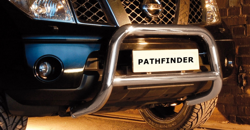 EU-Kufanger m/tverrrør, Ø 70mm/Ø 60mm, Nissan Pathfinder V6, mod. 2010->