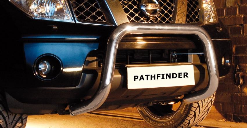 EU-Kufanger, Ø 70mm, Nissan Pathfinder, mod. 2010->