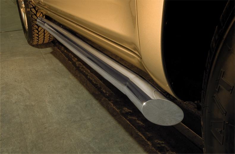Kanalbeskyttere Ø 48mm, Nissan Pathfinder, mod. 2010->