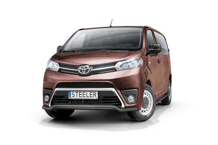 Sort spoilerrør Ø 60mm, Toyota ProAce Verso mod. 2016->