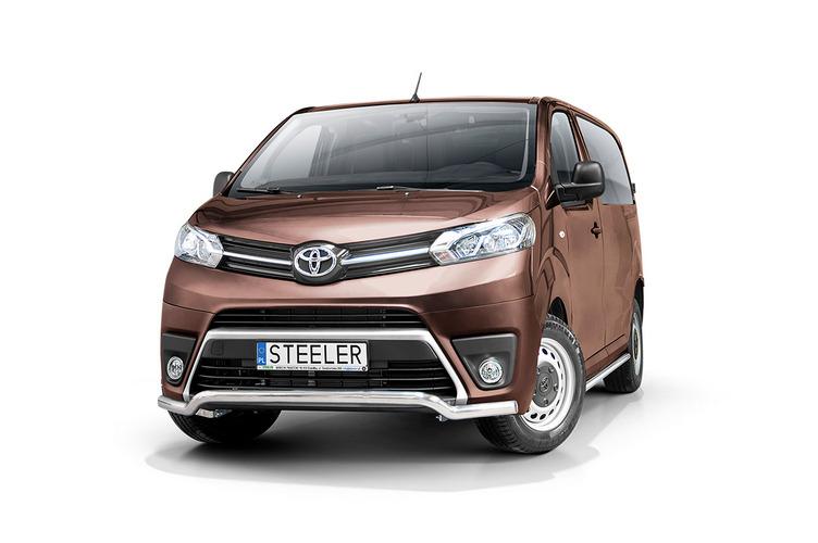 Spoilerrør Ø 60mm, Toyota ProAce Verso mod. 2016->