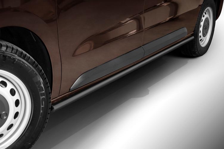 Sorte kanalbeskyttere Ø48mm, Toyota ProAce Verso mod. 2016->