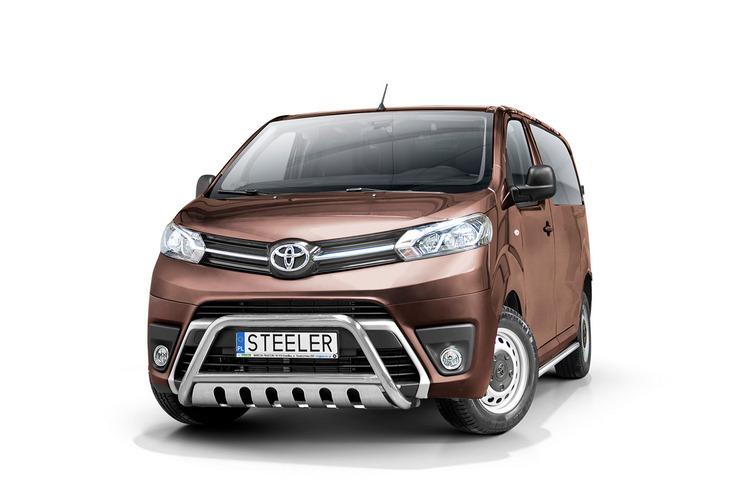 EU-Kufanger Ø 60mm, m/underkjørseksjon (blekk), Toyota ProAce Verso mod. 2016->