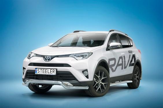 Spoilerrør, Ø 70mm, Toyota RAV4, mod. 2015 ->