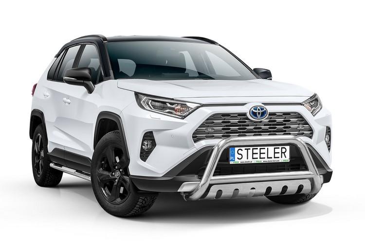 EU-Kufanger Ø 70mm/Ø 60mm, underkjørseksjon (blekk), Toyota RAV4, mod. 2018->