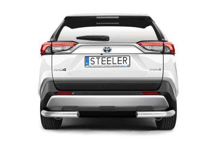 Hekkfanger Ø 70mm, høyre og venstre side, Toyota RAV4, mod. 2018->