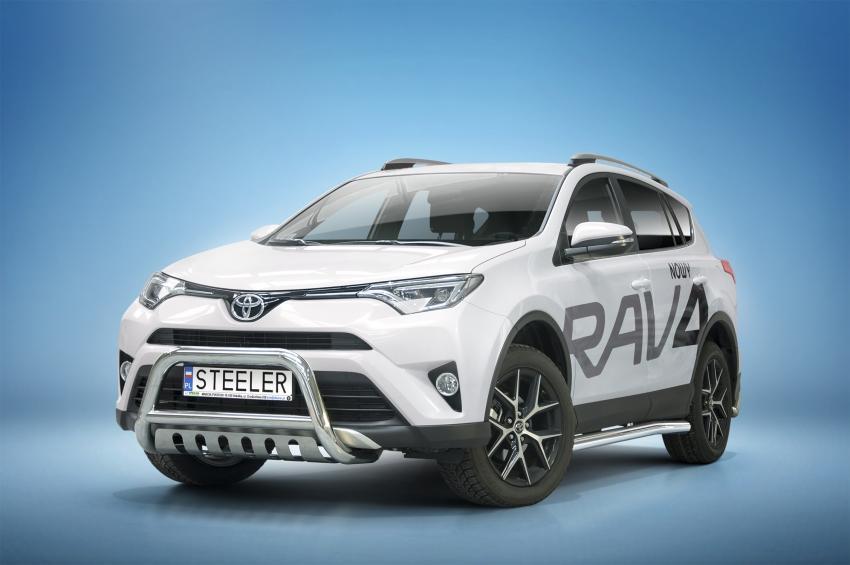 EU-Kufanger Ø 70mm/Ø 60mm, underkjørseksjon (blekkplate), Toyota RAV4, mod. 2015->