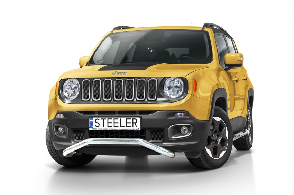 Spoilerrør Ø 60mm, Jeep Renegade mod. 2014->2018