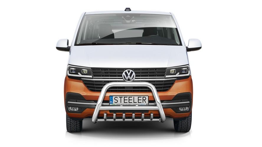 EU-Kufanger Ø 70mm/Ø 60mm, underkjørseksjon(rør), VW T6.1 mod. 2019->