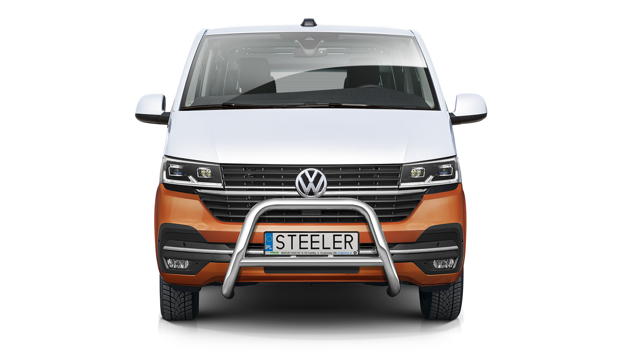 EU-Kufanger m/tverrør Ø 70mm/Ø 60mm, VW T6.1 mod. 2019->