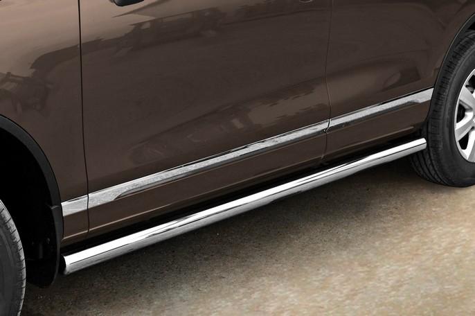 Sorte kanalbeskyttere Ø 60mm, VW TOUAREG mod. 2011->2015