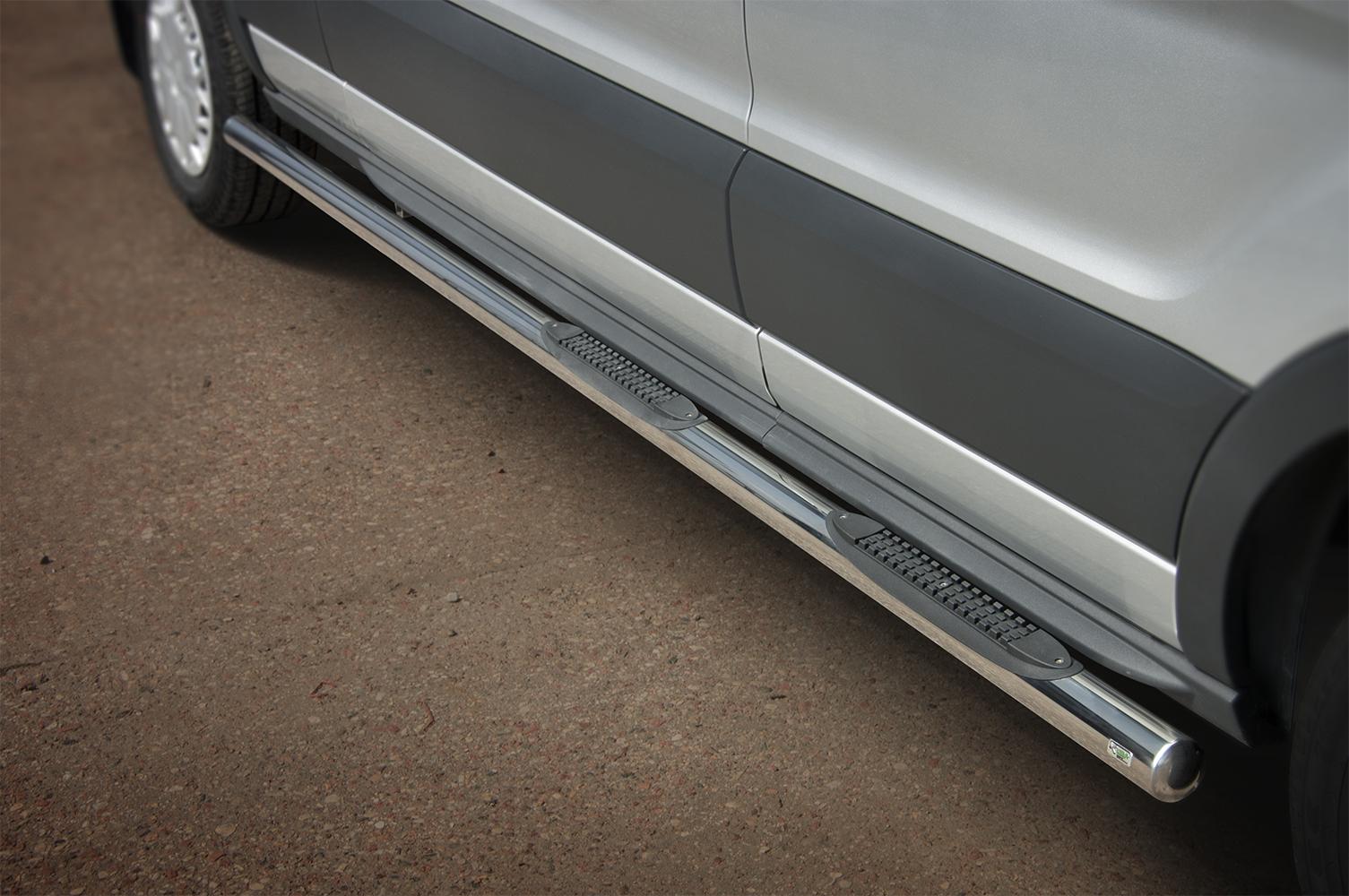 Sorte Kanalbeskyttere Ø 70mm m /trinn m /trinn i plast, FORD TRANSIT mod. 2014->2019