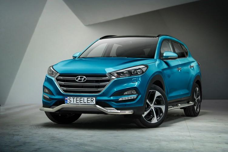 Spoilerrør Ø60mm, Hyundai Tucson mod. 2015->2018