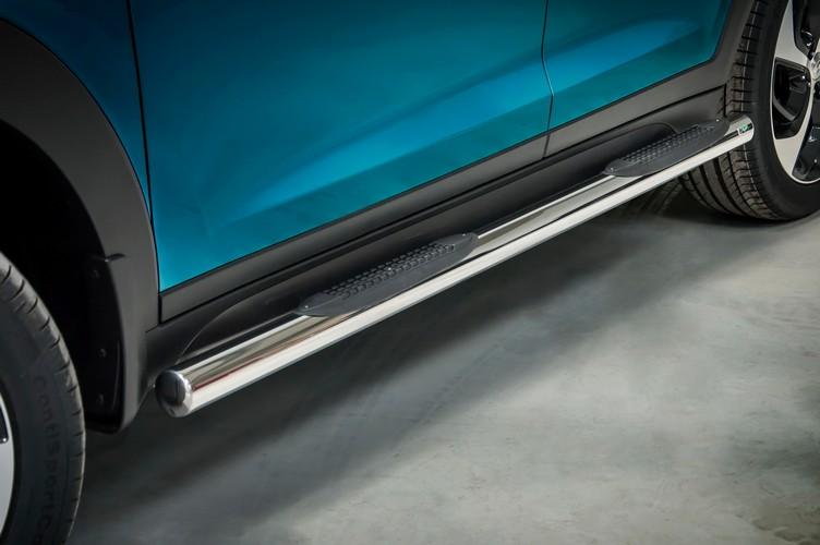 Kanalbeskyttere Ø70mm, m/trinn i plast, Hyundai Tucson mod. 2015->2018