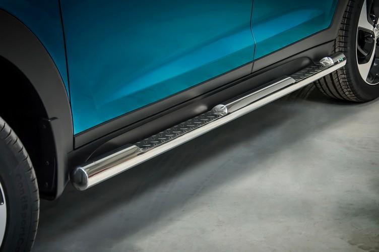 Kanalbeskytter Ø76 m/trinn, Hyundai Tucson mod. 2015->2018