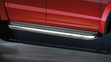 Stigtrinn Ø 70mm, m/metallplate,  VW Amarok mod. 2016->