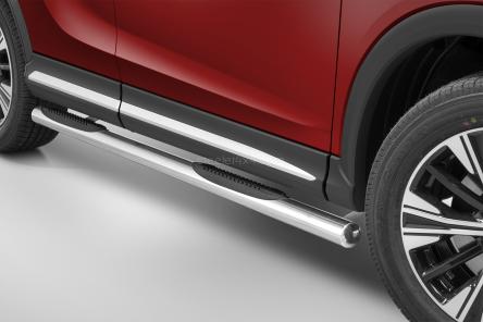 Kanalbeskyttere Ø 70mm, m/trinn i plast, Mitsubishi Eclipse Cross  mod. 2017->