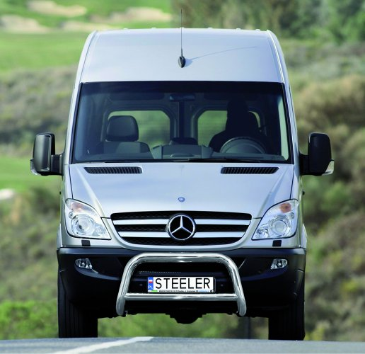 EU-Kufanger Ø 70mm, m/tverrør Ø 60mm, Mercedes Sprinter mod. 2006->2017